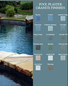 Granite Pool Finishes