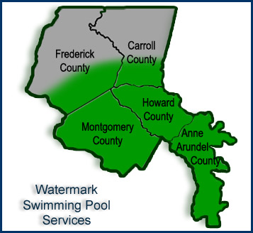 Maryland Pool Services Anne Arundel Howard Montgomery Carroll Frederick Counties Watermark